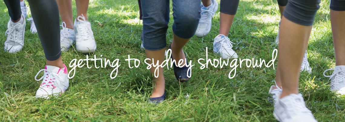 Getting to Sydney Showground, Sydney Olympic Park