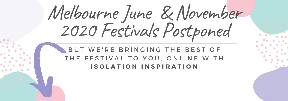 2020 Festivals postponed